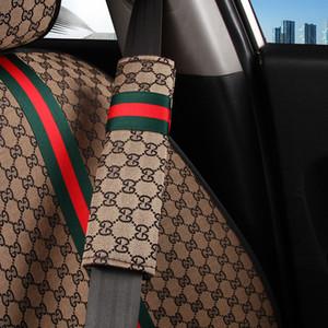 2pcs voiture sefety ceinture de couverture des enfants de ceinture de sécurité Épaulières Protection Rembourrage cadeau pour les accessoires auto pour enfants