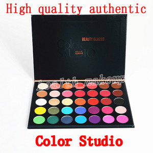 Cosmetics Eyeshadow Palette Beauty Glazed color studio 35 colors Ombretto opaco e luccicante Eye Shadow Palette cosmetici DHL