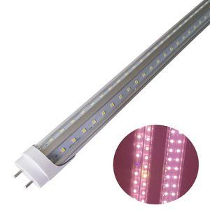 LED Grow Light V-образные трубки, полный спектр белого света, T8 Plant Light для садовой теплицы, растут лампы для крытых гидропонных растений