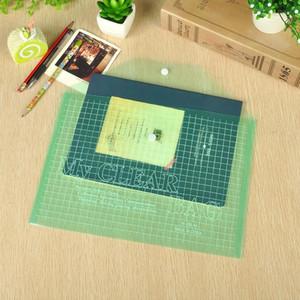 مكتب الموضة A4 شفاف ملف البلاستيك الإعلان حقيبة القرطاسية اللوازم الإيداع ملف الطالب مدرسة حقيبة مستلزمات الحقيبة وثيقة