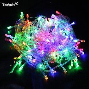 10m 100m 50m étanche 110V / 220V s Party Festival de Noël Fée de Noël colorée LED s