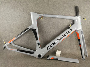 Colonago Njgo Carbon Road Cadre de vélo Full Fibre de carbone Cadre de vélo avec logo brillant BB386
