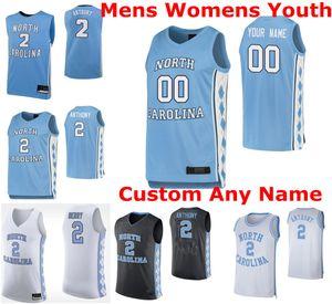 North Carolina Tar Heels maglie Mens Andrew Platek Jersey Brandon Robinson 11 Shea Rush K.J. Smith NCAA Basketball pullover su ordinazione cucita
