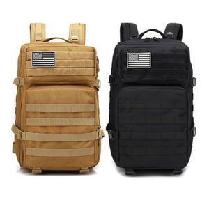 Mens Zaino Grande pacchetto di assalto dell'esercito zaini Molle Bug esterna Bag Out Escursionismo Daypack caccia Zaini