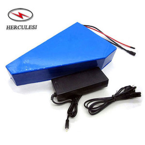 Rechargeable 52V 20Ah / 25Ah / 30Ah Lithium Ion batterie 52 volts Triangle Ebike batterie