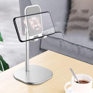 حامل لوح سطح المكتب يزيد من 168mm من الألومنيوم قابل للتعديل الأيدي لوح الهاتف المحمول مجانا أقواس ل iphon11 Air Mini جديد