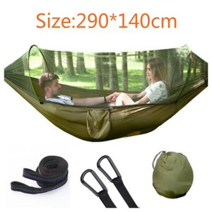 Outdoor Hammock Ultralight Mosquito Net Hunting Camp Mosquito Net Automatic unfolding hammock double lifting outdoor furniture