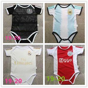 Последняя детская майка 19 20 Мексика Аргентина Реал Мадридская детская майка 2019/20 ОПАСНОСТЬ ПОГБА 6-18 месяцев детская рубашка