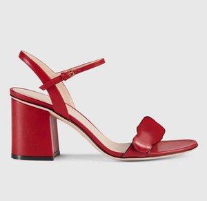 sensuais couro vermelho salto ouro metal de alta sandálias mulher sapatos sandálias de grife de luxo de alto grau de tamanho de 35 a 41 42 tradingbear
