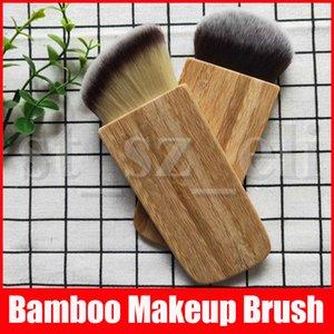 Moda professionale Bamboo Handle Blush Pennelli cosmetici compone la spazzola Per le donne strumento di bellezza