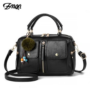ZMQN 6 Colors Bags For Women Fashion Crossbody Bag 2020 Black Flap Shoulder Pillow Bag Leather Small Handbag Ladies Popular A588