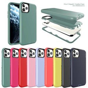 Armor Original Official Liquid Silicone 3in1 shockproof case luxury designer phone cases for iphone 11 pro xs max x xr 7 8 plus