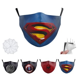 Hero Cosplay Masque Avenger super héros Party thème Costumes Coiffures Adult Costume Accessoires Halloween Marvel Super