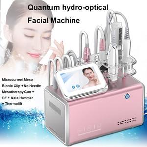 MUTIFUBLATION INGLE Free Mesotherapy Deep Hytertation MicroCurrent Face Lift Machine Thermolift RF Увеличение коллагена Производство