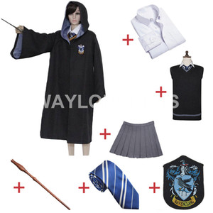ShippingHarry libero Potter Corvonero Luna Lovegood Cosplay Robe Mantello gonna uniforme per il costume Harris