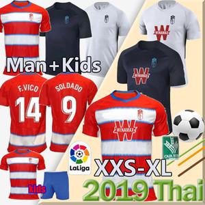19 20 لكرة القدم بالقميص غرناطة 2019 2020 منزل بعيدا الثالث سولدادو هيريرا أنتونيو بويرتا فاديلو camiseta دي فوتبول رجل + الاطفال قمصان كرة القدم
