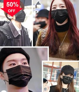 q3ank Wholesale Cheap Price 3ply Disposable Non-woven Anti Dust Air Pollution Mask High Quality Safty Masks Shipping Free Face mas