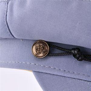 Octagonal Hat New Fashion Cotton Newsboy Cap Women Button Cap Casual Street Wear Rope Flat Cap Elegant Solid Autumn