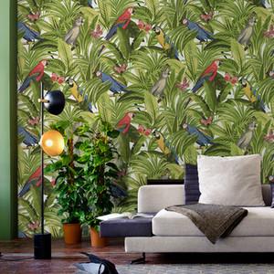 Custom 3D photo wallpaper stereo hand painted Flamingo wallpaper restaurant children room zoo lounge wallpaper papel de parede