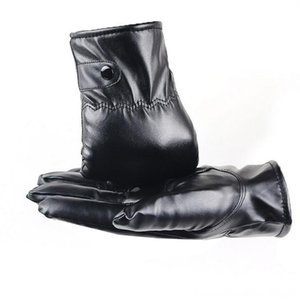 2020 autumn new Mens Luxurious Leather Winter Super Driving & Mittens Hats, Scarves & Warm Cashmere Gloves Cashmere winter warm driving glov