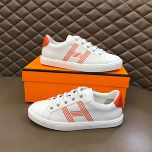 Hermes 2020 Yeni H Sneakers En Mischpalette Moda Erkekler Rahat Rahat Düz ayakkabı yüksek ayakkabılar RD mhjk03