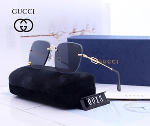 Occhiali da sole di lusso adumbral uomini di marca calda con Full frame per donne degli uomini Plain di marca degli occhiali da sole Anti-Blue Light di vetro con la scatola
