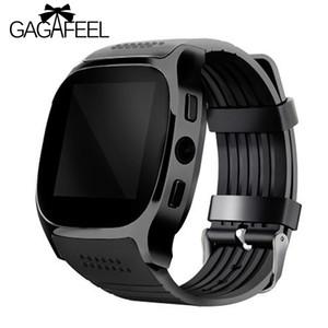 Gagafeel T8 Bluetooth Montre intelligente avec caméra Facebook Whatapp Soutien Sim Tf Carte Appelez les femmes Smartwatch pour téléphone Android Y19052103
