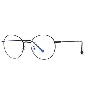 2019 신형 컴퓨터 독서 게임용 안경, 원형 프레임 컴퓨터 고글, 안티 블루 안경, 원형 프레임 모바일 고글, 학생 고글 2019