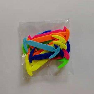 Дети силиконовые Шнурки Упругие шнурков Специальный Нет Tie Shoelace Мужчины Женщины шнуровка Rubber Дети Кроссовки Quick Shoe Lace Бесплатная доставка