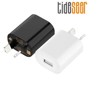 Caricatore dell'adattatore di potere del USB della spina Block AUS Plug SAA C-Tick Approvato 5V 1A porta singola USB per iPhone Xs Max / X / XR / 8/7 Plus