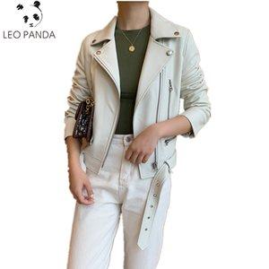 2019 Winter Real Genuine Leather Coat Jacket Women 탑 Women 양 피부 Short Jacket Slim Fit Coat Jaqueta Female