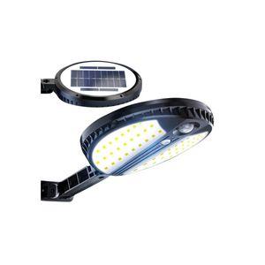 LED بالطاقة الشمسية مصباح الجدار في الهواء الطلق مقاوم للماء 70LED استشعار الحركة مصباح الجدار جسم الإنسان التعريفي فناء الحديقة الخفيفة الإضاءة