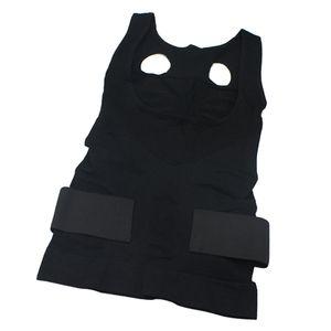 Womens Underbust Corset Waist Trainer Cincher Invisibile Body Shaper Vest with Straps Posture corrector