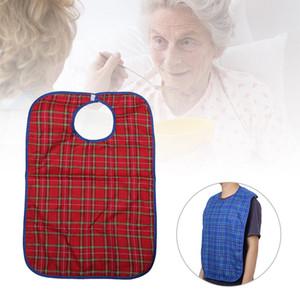 Großes Wasserdichtes Adult Mealtime Lätzchen Disability Kleidung Koch-Schutz-Tool