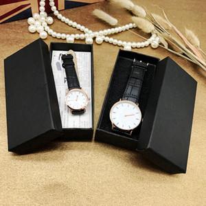 남자 시계 케이스 팔찌 블랙 컬러 13 x 6 x 3.2cm에 대 한 긴 시계 상자 선물 상자