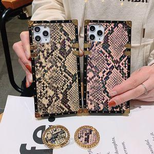 Telefono di lusso Case for iPhone 11 Pro X XS MAX XR 8 7 Samsung Galaxy S20 S10 S9 note10 9 Cavalletto Caso Designer