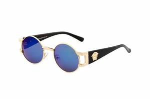 2018 neue mode italien marke biene 919 sonnenbrille mit logo frauen männer mode großen rahmen sonnenbrille dame fahren shopping eyewear d001