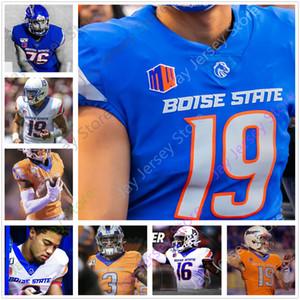 Personnalisé Boise State College Football Jersey John Hightower Khalil Shakir CT Thomas John Bates Chase Cord 98 Sonatane Lui