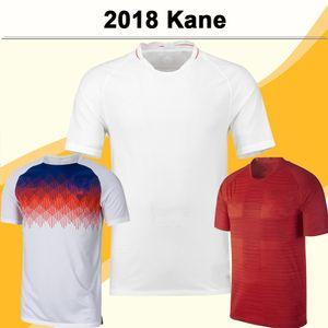 2018 KANE STERLING мужского трикотажных изделий футбол Англия ROONEY Vardy Главной White Away Одежда Красного Обучение одежда Футбол рубашка RASHFORD с коротким рукавом