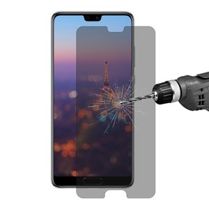 Enkay Hat-Prince 0.26mm 9H 2.5D Privacidad antideslumbrante templado película de vidrio para Huawei P20