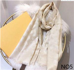 Neue Mode Seidenschal Mann Damen Frühling Winter Schal Schal Schals Größe 180x70cm 6 Farben