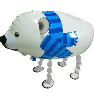 DHL Unicorn Marche Ballon Ballons Pet Birthday Party Supplies Décoration Adornment Aluminium Foil Boule Enfants Enfant Cadeaux pour les enfants nn
