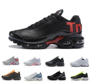 Горячие Продажи 17 Цветов Mercurial Plus TN Ultra SE Triple Черный Белый Дышащий Животный Обувь Спорт Plus TN Мужские Кроссовки 36-45