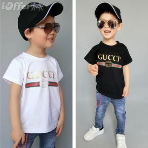 2020 New Designer Brand 1-9 Years Old Baby Boys Girls T-shirts Summer Shirt Tops Children Tees Kids shirts Clothing
