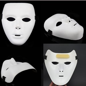 dançarinos máscara Jabbawockeez Hot dançar juntos Performances mascarar máscara Hip-hop elástica branca modelos masculinos 10pcs / lot