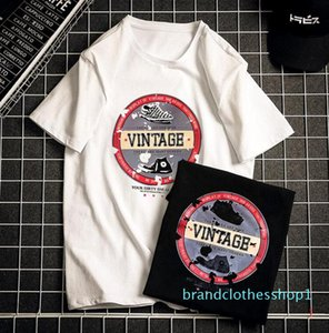 New Summer T Shirts For Mens Designer Tee Shirts Tops With Letters Luxury Hip Hop Shirts Short Sleeved Tshirt for Males PH-WN204263