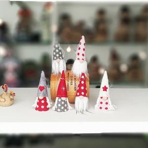 Baby Faceless Christmas Doll Colgante Decoraciones Opp Embalaje Pequeño y exquisito Widgets encantadores con varios colores 6 4jf J1