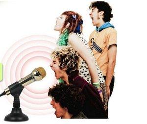 Электронный голос DM-099 Gold Edition микрофон компьютер мини-микрофон сеть K song voice chat цвет золота, магия черного цвета