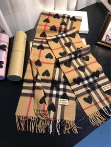 2019 boutique inverno uomini nuovi e scialli di lana usura cuore puro caldi delle donne, doppio scopo morbida, liscia sciarpa