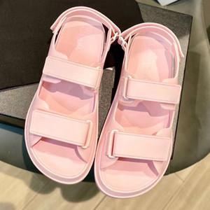 женщины TPU на липучке Сандалии женские Сандалии Дизайнерская обувь Beach Classic Comfort Star Избранные Размер 35-41 с коробкой